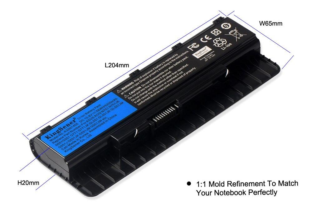 Corée Ccell A32N1405 Nouvelle Batterie pour ASUS ROG N551 N751 N751JK G551 G771 G771JK GL551 GL551JK GL551JM G551J G551JK G551JM G551JW - 4