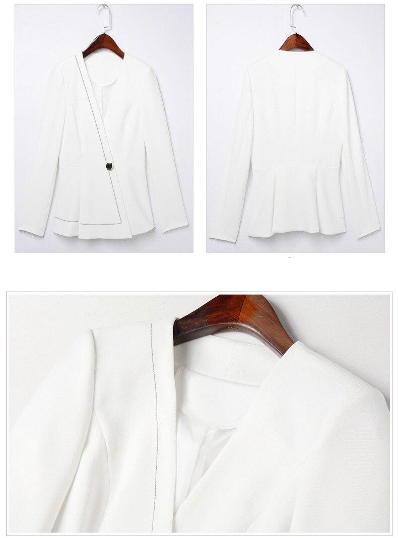 Veston Sac Mode 2 De Décontracté Petit Costume pièce Nouvelle Professionnel jambe Mince 1 Deux Large Pantalon 2019 Kelly Bureau Femmes 7gw0tqH0