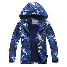 2019 Spring Autumn Kids Sport Jackets Children Polar Fleece Warm Coats Boy Outerwear Waterproof Windproof HoodieBoys