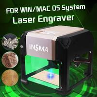 3000 mW CNC Laser Engraving Machine USB Desktop DIY Logo Mark Printer Cutter Carving Engraver for Home Use Handicraft Wood Tools