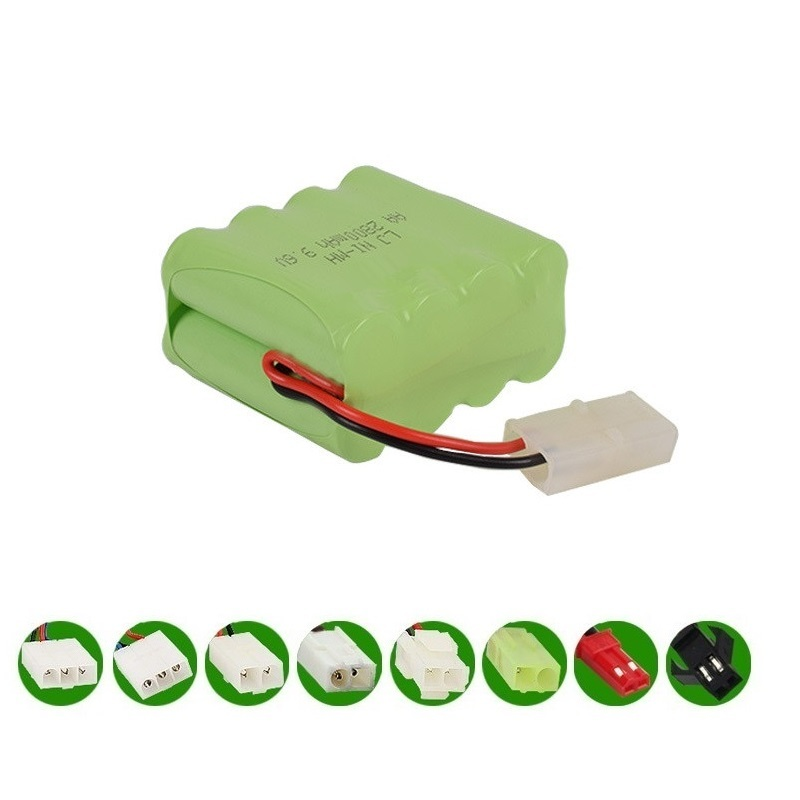 ( X Model ) 2800mAh 9.6V Ni-MH Battery For Remote Control Toys Cars Trucks Tank Guns Lighting Facilities RC TOYS AA Battery 1pcs