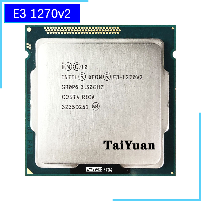Intel Xeon E3 1270 v2 E3 1270v2 E3 1270 v2 3 5 GHz Quad Core CPU