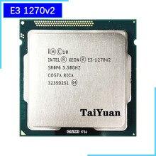 إنتل زيون E3 1270 v2 E3 1270v2 E3 1270 v2 3.5 GHz رباعية النواة معالج وحدة المعالجة المركزية 8M 69W LGA 1155