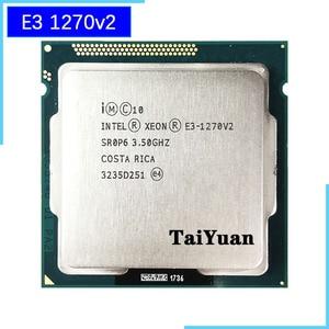 Image 1 - Intel Xeon E3 1270 v2 E3 1270v2 E3 1270 v2 3.5 GHz Quad Core processeur dunité centrale, 8M 69W, LGA 1155