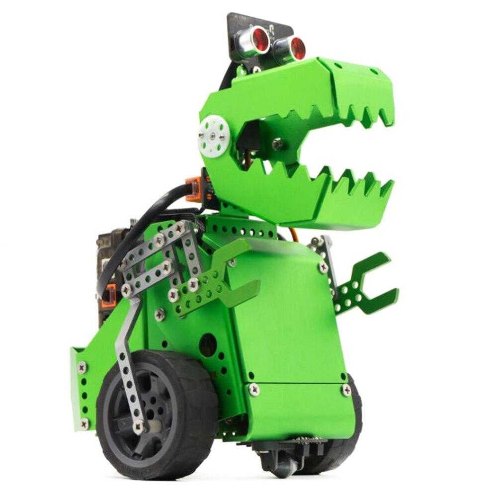 2 en 1 déformable extensible Robot programmation éducative Intelligent bloc de métal Robot bricolage tige éducation apprendre codage jouets