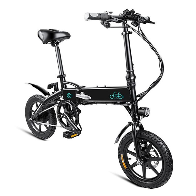 Vélo électrique pliant Durable en alliage d'aluminium FIIDO D1 EU 7.8Ah/10.4Ah vélo électrique léger Portable à pliage rapide