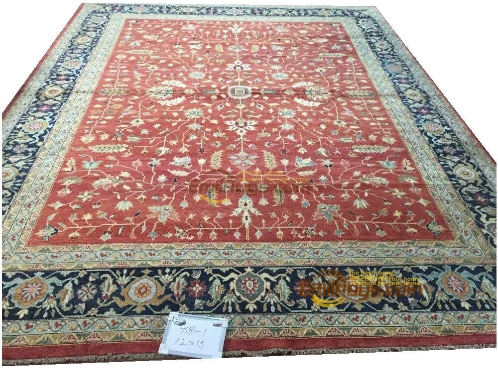 Original single export Turkish handmade carpets OUSHAK Ozarks pure wool carpet X8-1 12x15gc47zieyg28Original single export Turkish handmade carpets OUSHAK Ozarks pure wool carpet X8-1 12x15gc47zieyg28