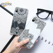 KISSCASE Floral Pattern Phone Case For iPhone MAX XR XS X 8 7 6 6s Plus Animal Case For iPhone 5 5s SE Fundas Coque Capa Covers цена и фото