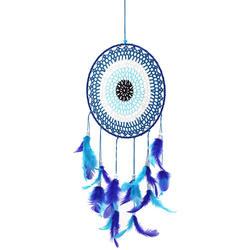 Ловцы снов для детей, красочные Ловец снов из перьев украшения для спальни Ручной Работы Радуга Ловец снов