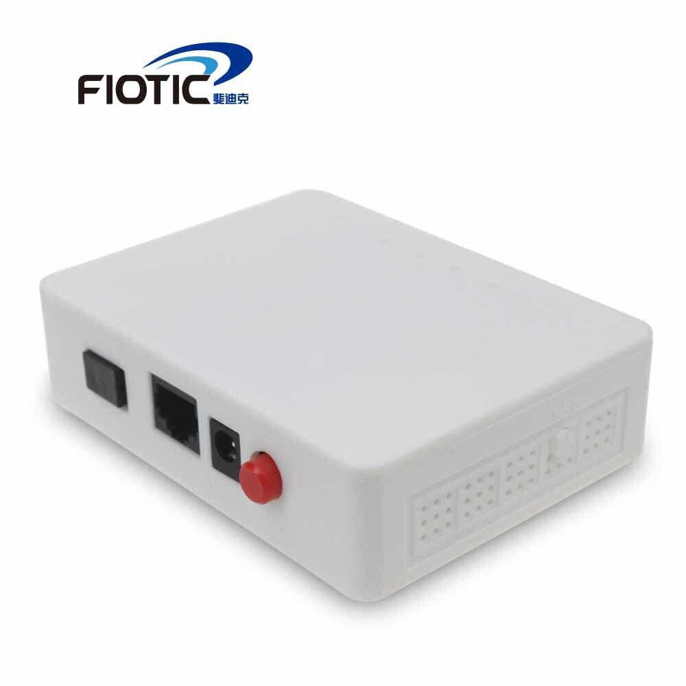 6PCS FTTH 1GE GEPON 1port ONU EPON OLT FTTO FTTB 1.25G EPON ONT Fiber EPON Terminal Compatible  ZTE Fiberhome