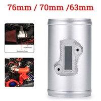 63/70/76mm Car MAF Adapter Air Flow Sensor Adapter Aluminium Auto Air Flow Sensor Mount Fits for Honda for Ford for Nissan
