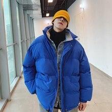 2018 зимняя мужская Ковбойская одежда с воротником-стойкой, хлопковая стеганая одежда, зимние парки, куртки, Брендовые пальто, повседневные теплые качественные тренчи, S-XL