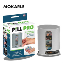2019 Hot Pill Box Pill Box 7 Days Organizer For Tablets Pill Cases Compact Organize Mini Pills Storage Box Medicine Container