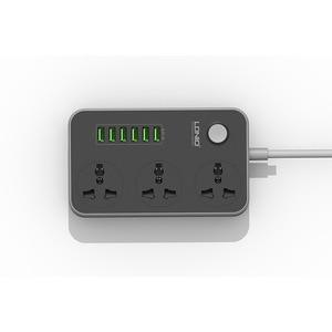 Image 2 - Удлинитель USB, 6 многоразъемных зарядных устройств, 3 ходовая розетка, британские стандартные бортовые полоски розетки,