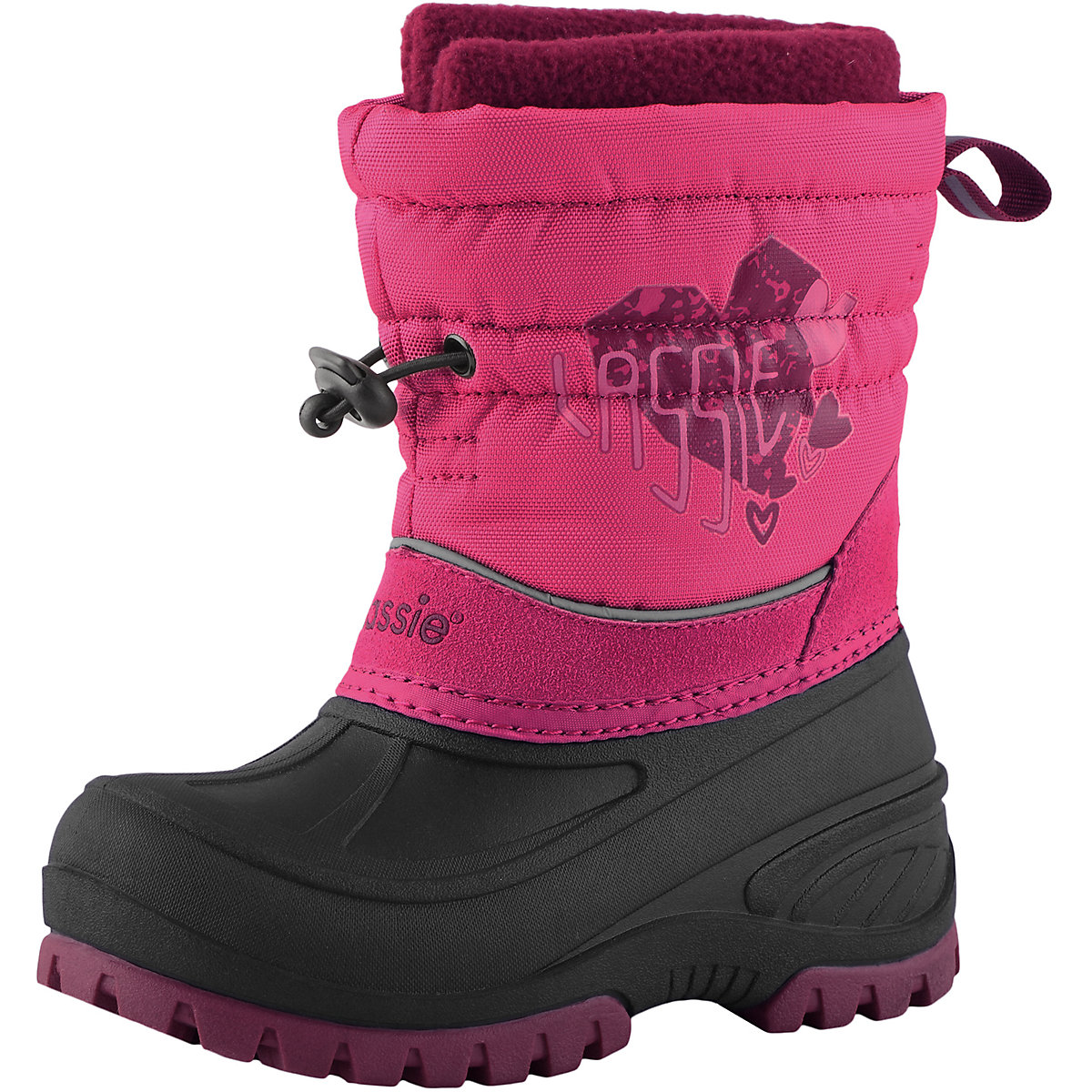 Фото - LASSIE Boots 8624767 For girls Warm Kids Baby shoes winter girl flamingo winter waterproof wool warm high quality kids shoes orthotic arch anti slip size 23 28 snow boots for girl 82m qk 0921