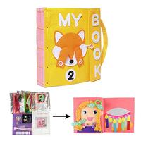 Baby 3D Soft Cloth Baby Books My Quiet Book Early Development book Educational Gift For Infant 1 5 years old