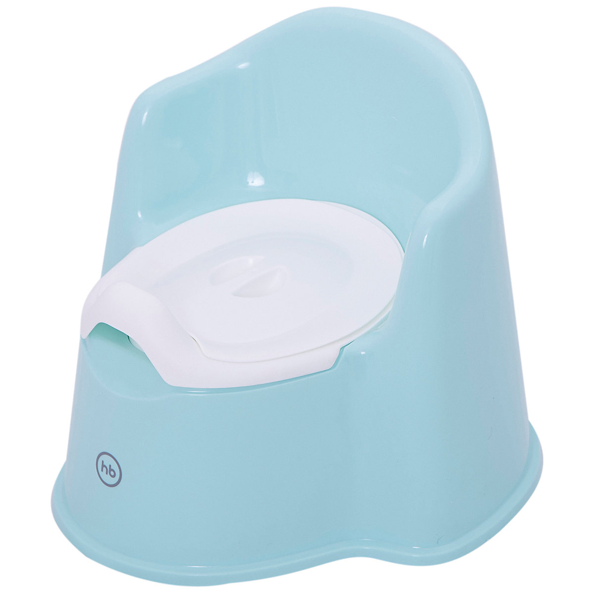 Potties & Seats HAPPY BABY 4390745 Горшок Happy Baby Zozzy светло-голубой MTpromo