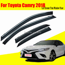 цена на Car Sun Visor Window Visor Rain Shade for Car Window Plastic Visor Accessories For Toyota Camry 2018