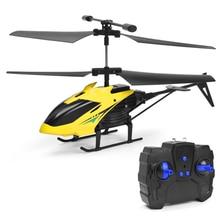 RC ヘリコプターミニドローンラジコンおもちゃ子供のためのプロフェッショナル航空機 チャンネル飛行機 2