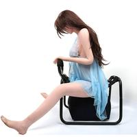 None Multifunction Sex Position Enhancer Chair Novelty Toy with Handrail Pillow Adventure Gear for Couples