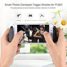 Smart Mobile Phone Game Gamepad Cellphone Gaming Joystick Handle Controller Holder Trigger Shooter Game Pad for PUBG L1R1(China)