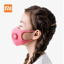 3pcs Xiaomi SmartMi Childrens Light Breathing Haze-Proof Mask Powerful Filtration PM2.5 Blocking Multiple Allergens Skin-friend