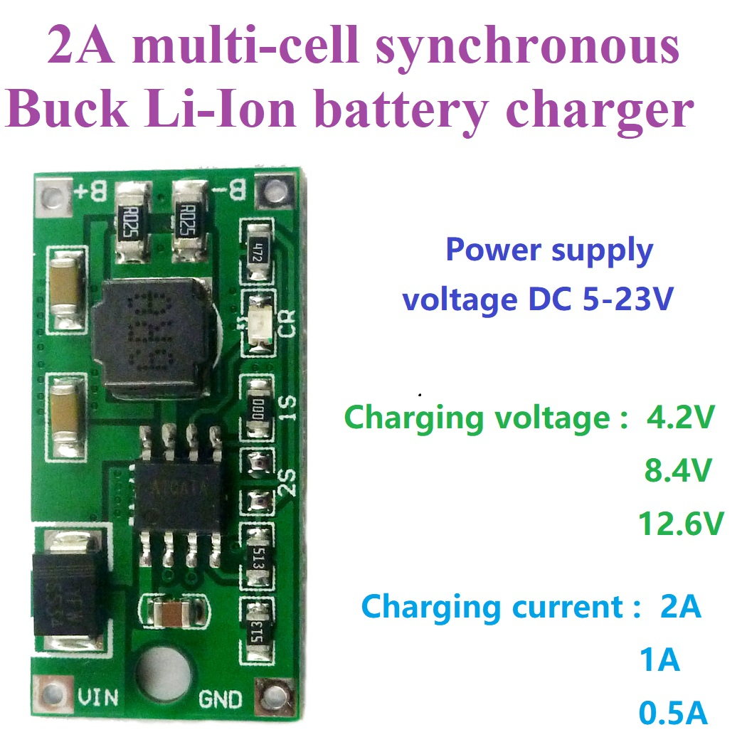 DC 5 23V до 4,2 V 8,4 V 12,6 V 1S 2S 3S многоэлементное литий ионное зарядное устройство для солнечной зарядки портативное устройство Интегральные схемы      АлиЭкспресс