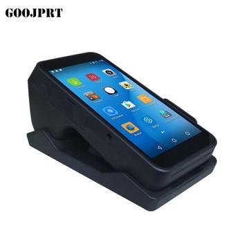 Terminalu POS PDA z bezprzewodowej Bluetooth i Wifi system android z wbudowaną drukarkę termiczną i skaner kodów kreskowych