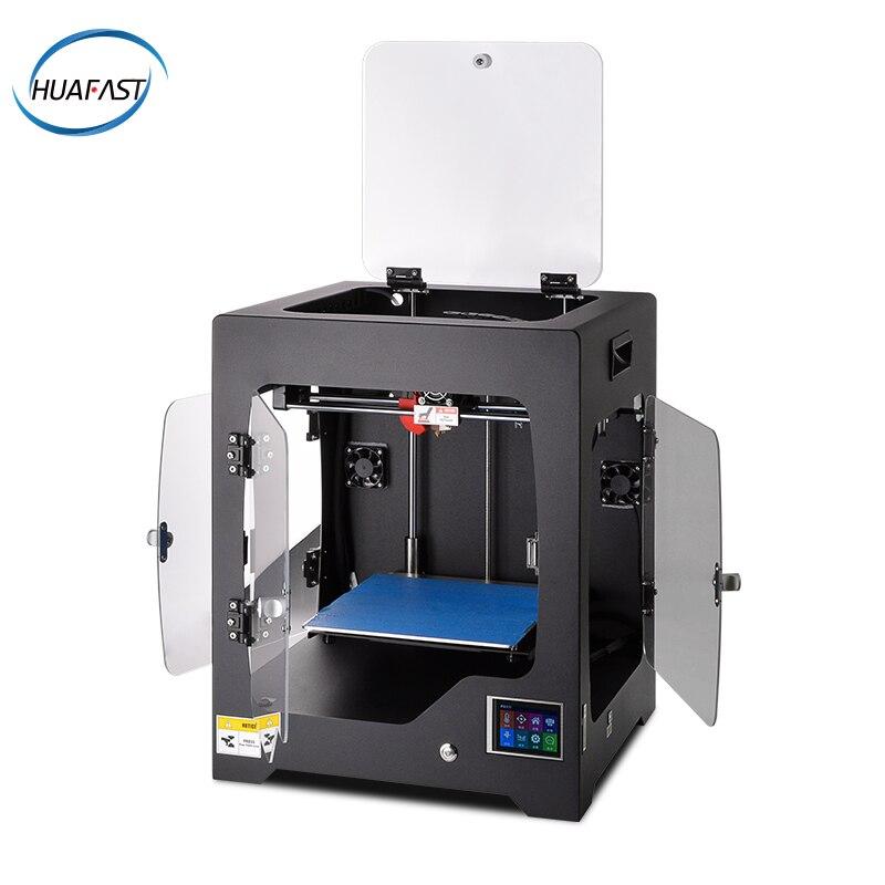 HUAFAST imprimante 3D XYZ cadre en métal grande taille Plus impression industrielle de réalité Impressora Plus récent méga Machine bricolage Reprap i3 i4 STL