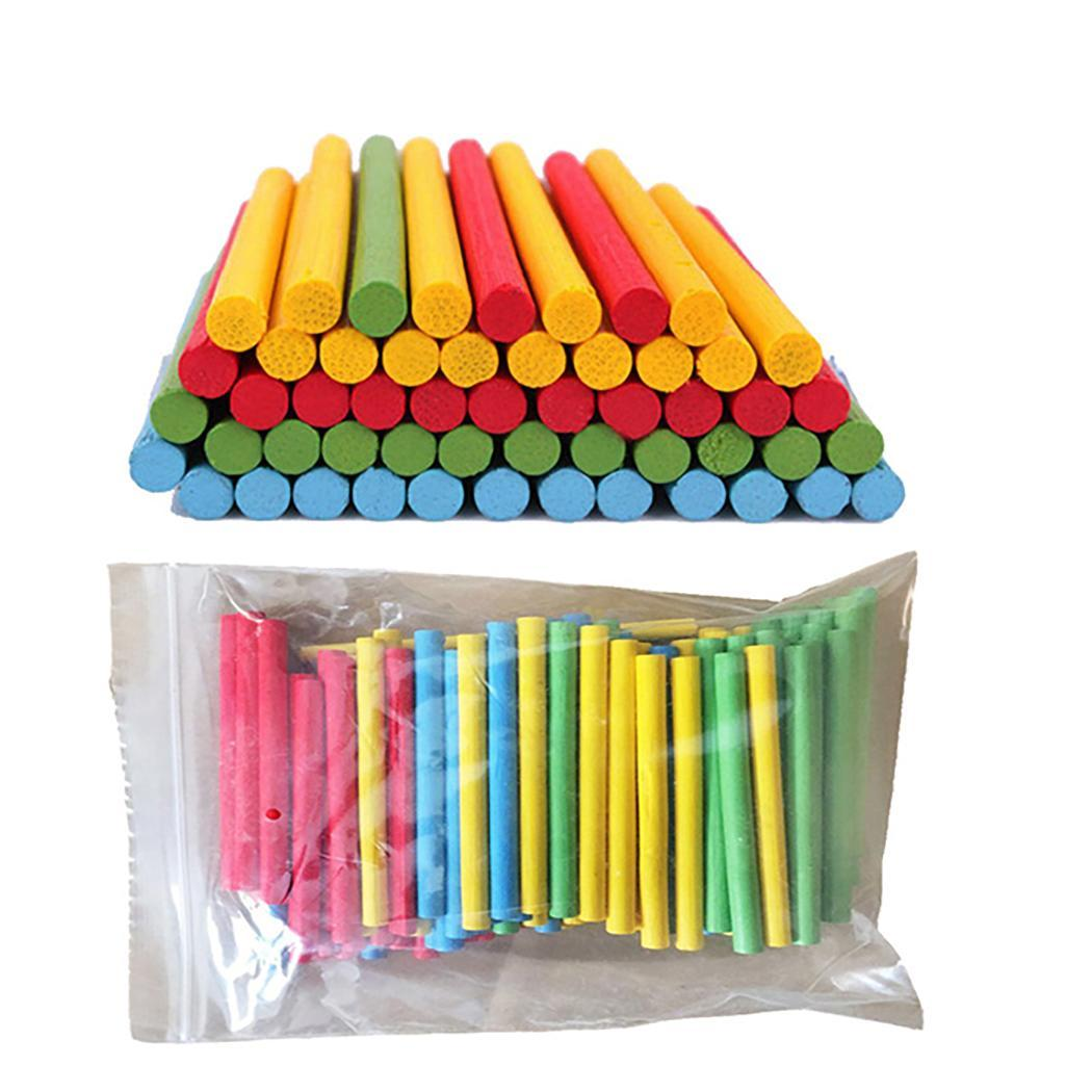 Durable Children Colorful Counting Stick Educational Toys > 3 Years Old Math Toy Random