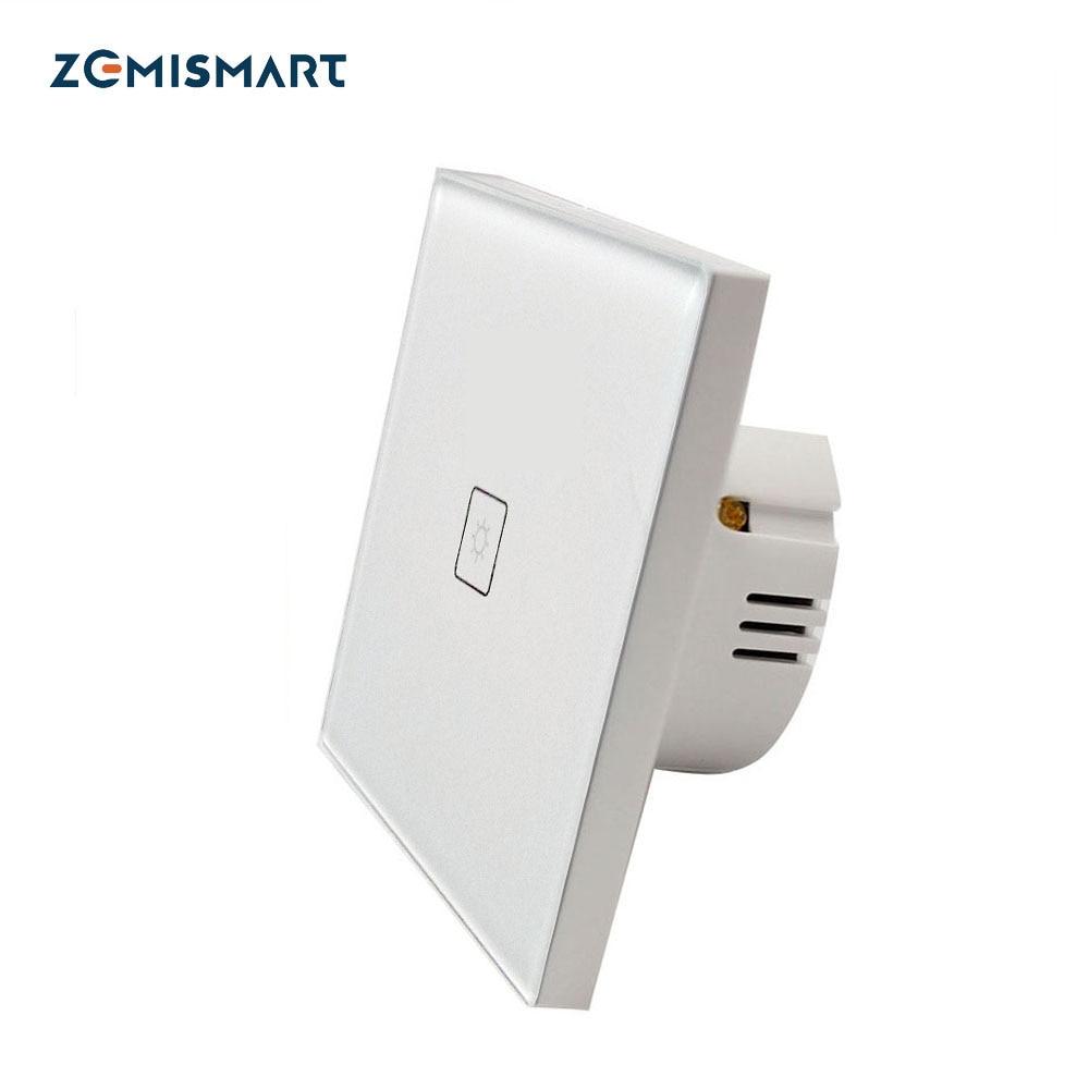 zemsmart controlador zigbee zigbee interruptor para smartthings eco plus telefone ue 3 0 gang 1 1