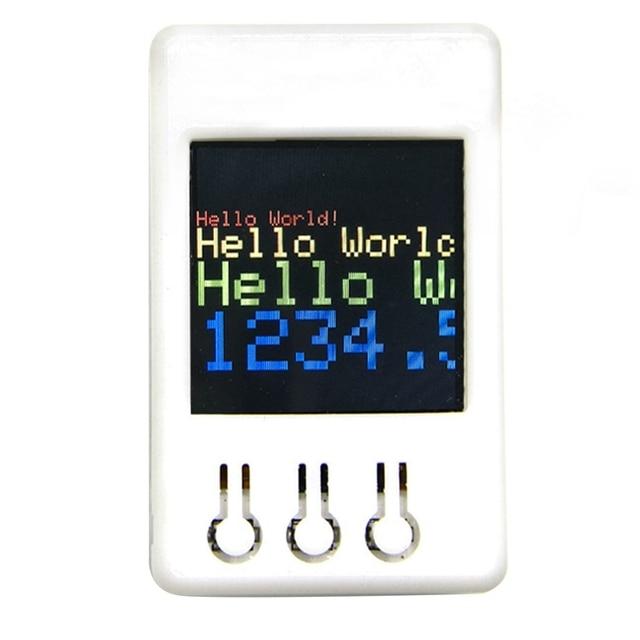 Ttgo Ts V1.2 Diy Box Esp32 1,44 дюймов 128X128 Tft слот для карты Microsd колонки Bluetooth Wifi модуль для дисплейного оборудования, плеера