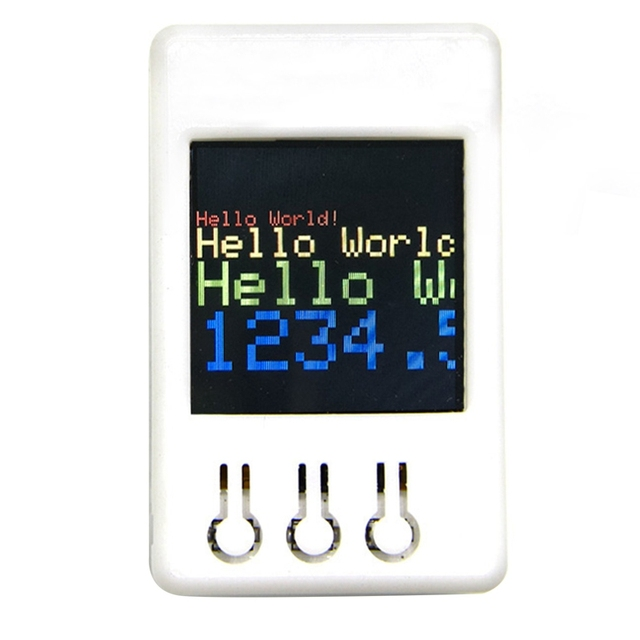 Ttgo Ts V1.2 Fai da Te Scatola di Esp32 da 1.44 Pollici 128X128 Tft Slot per Schede Microsd Altoparlanti Bluetooth Wifi Modulo per display Degli Apparecchi, lettore