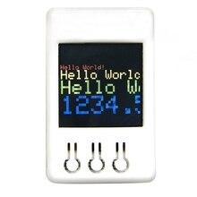 Ttgo ts v1.2 diy caixa esp32 1.44 Polegada 128x128 tft microsd cartão slot alto falantes bluetooth wifi módulo para equipamento de exibição, jogador