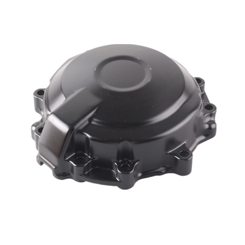 Couvercle de carter moteur en aluminium CNC pour Kawasaki Ninja ZX6R 2007-2008 ZX-6R noirCouvercle de carter moteur en aluminium CNC pour Kawasaki Ninja ZX6R 2007-2008 ZX-6R noir