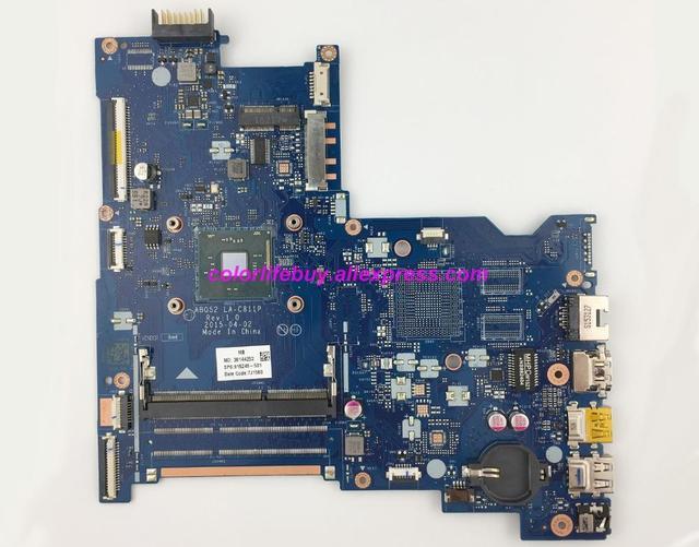 ของแท้ 815248 501 815248 601 815248 001 ABQ52 LA C811P w CelN3050 เมนบอร์ดสำหรับ HP 15 15 AC 15T AC 15 AU Series NoteBook PC