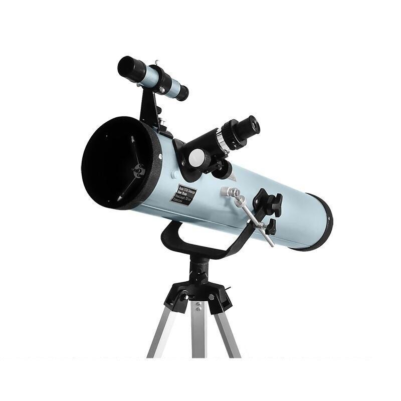 Télescope astronomique réfléchissant à grande ouverture avec trépied Portable télescope de zoom monoculaire extérieur portée 350 fois F76700