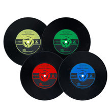 Plastic Records For Decorations Promotion