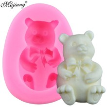 Mold Candy Polymer-Clay Chocolate Silicone 3d Bear Decorating-Tools Fondant Cake Cookie-Baking