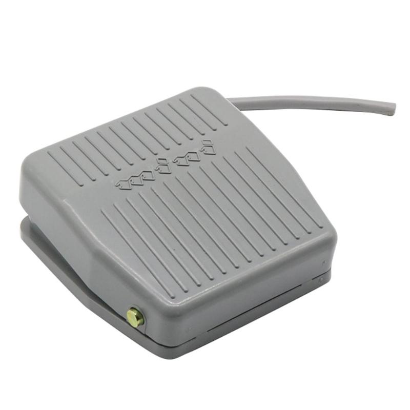 250V 10A Plastic Foot Momentary Control Switches Electric Power Foot Pedal Switch Accessories