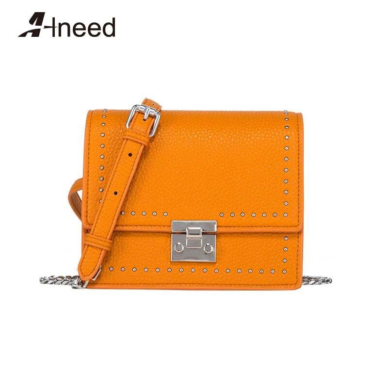 ALNEED Designer sacs marque célèbre femmes sacs 2019 luxe épaule rabat sac corée mode bandoulière chaîne sacs Bolsa Feminina
