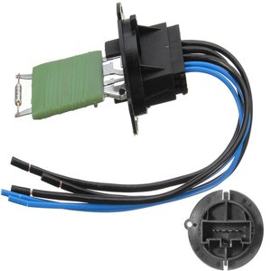 Car Heater Resistor Connector And Wiring Harness 6445ZL 6445KL 6450JP For Peugeot 206 307 For Citroen C3 Xsara Picasso(China)