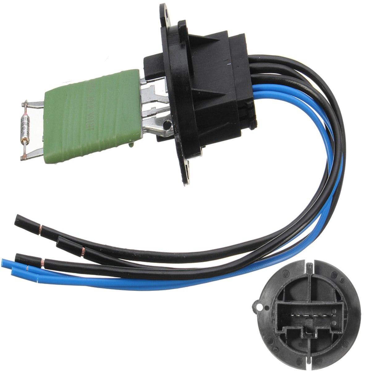 Connecteur de résistance de chauffage de voiture et faisceau de câbles 6445ZL 6445KL 6450JP pour Peugeot 206 307 pour Citroen C3 Xsara Picasso