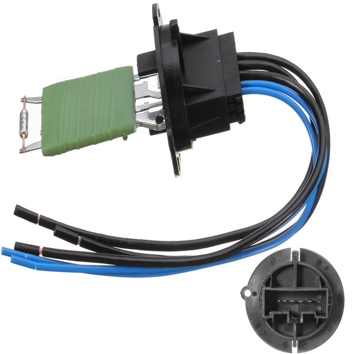 Resistor Aquecedor do carro Conector E Cablagem 6445ZL 6445KL C3 6450JP Para Peugeot 206 307 Citroen Xsara Picasso
