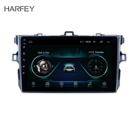 Harfey Quad core Car Multimedia For 2006 2007 2008 2009 2010 2012 Toyota Corolla Android 8.1 GPS Radio Unit Player with WIFI SWC