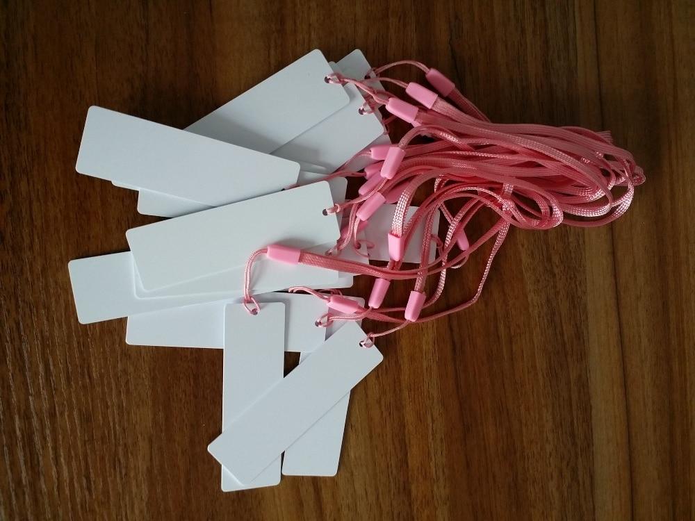 HF ISO15693  (NXP-ICODE-SLIX) 13.56MHz PVC Hang Tag 120*32MM