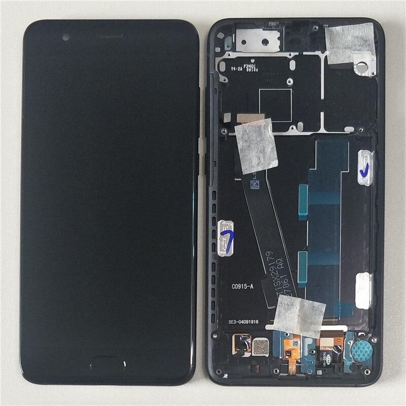 D'origine M & Sen Pour 5.5 Xiao mi mi Note 3 LCD Écran Affichage + Écran Tactile Digitizer Avec d'empreintes digitales Avec Cadre mi Note 3 + Outils