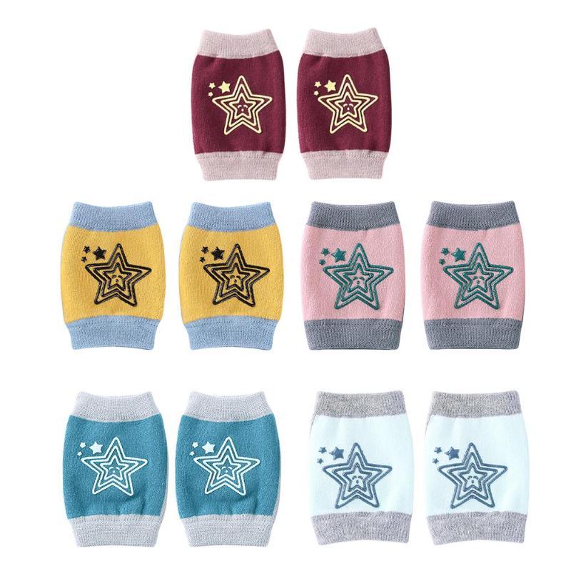 1 Para Baby Krabbeln Pad Bein Schützen Baby Knie Pads Anti Slip Kleinkinder Kleinkinder Krabbeln Zubehör Baby Bein Knie Protector