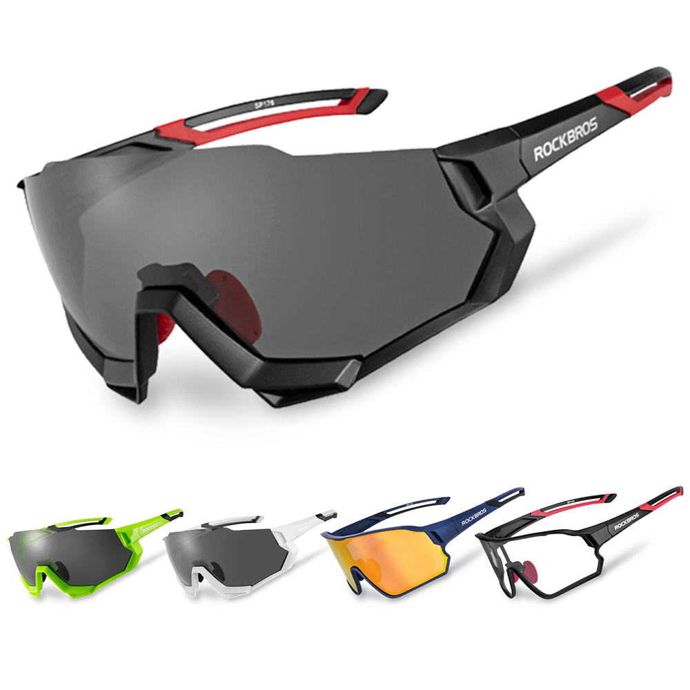 Gafas De Sol Para Hombres Ciclismo Bicicleta Carretera Ski Deportivas Anti-400UV