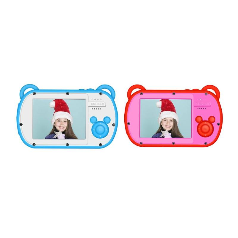 K6 Mini enfants jouets éducatifs caméra 8X Zoom numérique 2.7 pouces écran 18MP DSLR caméra enregistreur vidéo caméscope pour enfants cadeau